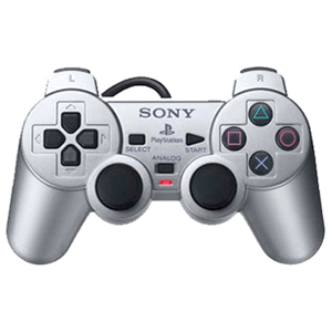 Controller Sony Dualshock 2 Silver