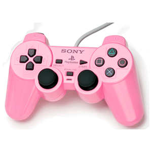 Controller Sony Dualshock 2 Rosa