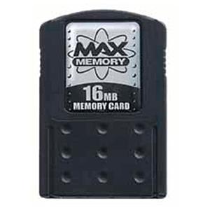 Memory Card Max 16Mb Negra