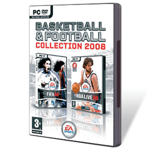 Pack Basketball & Football FIFA 08 + NBA LIVE 08