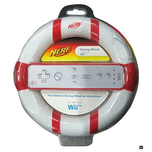 Volante Wii de Goma NERF