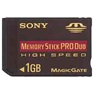 Tarjeta Memory Stick Pro Duo Sony 1Gb