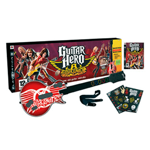 Guitar Hero Aerosmith + Guitarra Inalámbrica