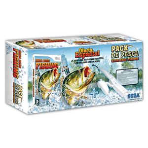 Sega Bass Fishing + Caña de Pescar