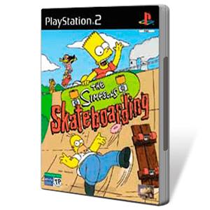 The Simpsons Skateboarding
