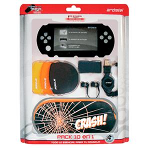 Pack 10 en 1 PSP 2000-3000