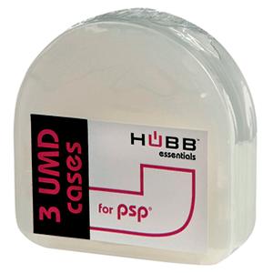 Hubb Essentials: 3 Cajas para Discos UMD