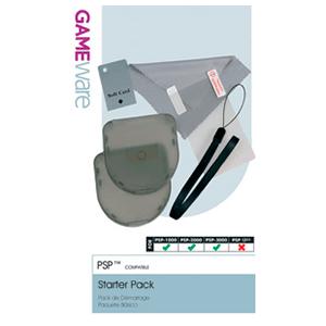 Pack Starter Protector Pantalla + Correa + 2 cajas UMD GAMEware