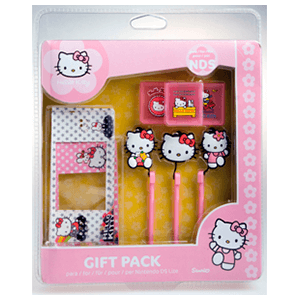 Pack Accesorios Gift Hello Kitty NDS