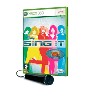 Disney Sing It + Microfono
