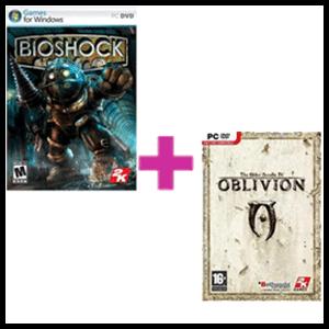 Pack Bioshock + Oblivion