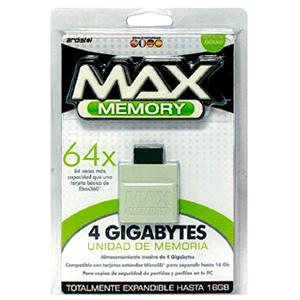 Tarjeta de Memoria 4 Gb Max Memory