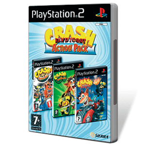 Crash: Triple Pack (TTR, Nitro Kart y Twinsanity)