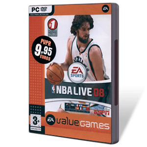 NBA Live 08 Value Games