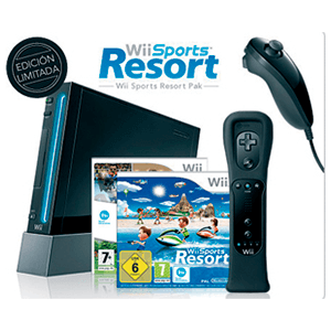 Wii Negra pack Sports Resort
