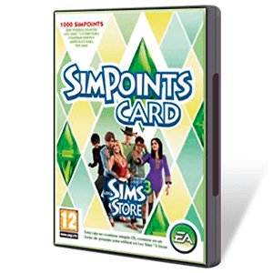 Los Sims 3: Simpoints Retail Card