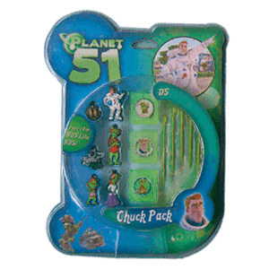 Pack Accesorios Chuck NDSL/DSI Planet 51