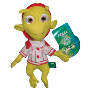 Peluche Planet 51 Eckle