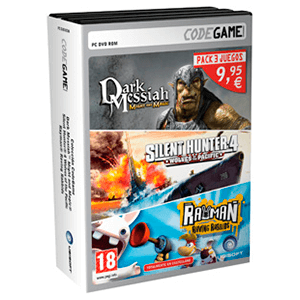 Dark Messiah, Silent Hunter 4 Wolves, Rayman Raving Rabbids