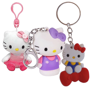 Surtido Llaveros Hello Kitty