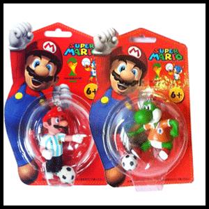 Surtido Llaveros Mario Futbol
