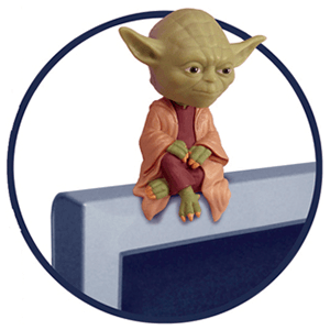 Computer Sitter Yoda