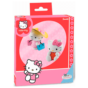 Pack Figuras Hello Kitty (Shopping + Valantine)