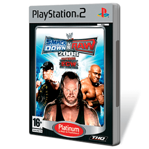 WWE Smackdown vs Raw 2008 (Platinum)