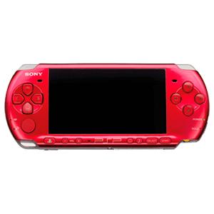PSP 3000 Roja