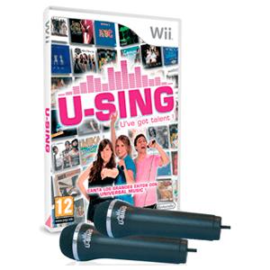 U-Sing + 2 Micrófonos