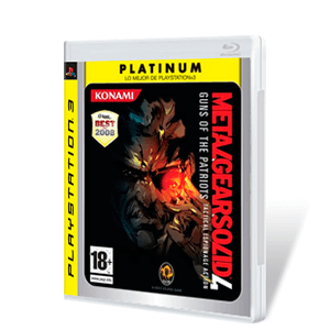 Metal Gear Solid 4 Platinum
