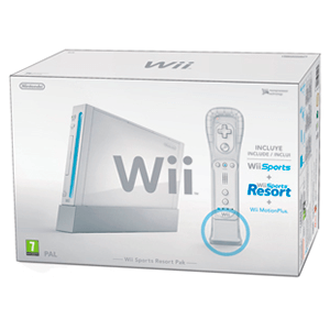 Wii Blanca pack Sports Resort