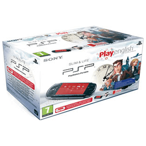 PSP 3000 Negra + Play English