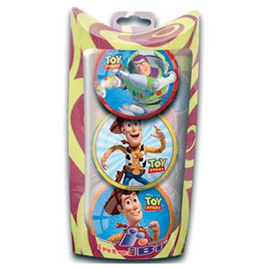 Pack 3 Pelotas (Toy Story)