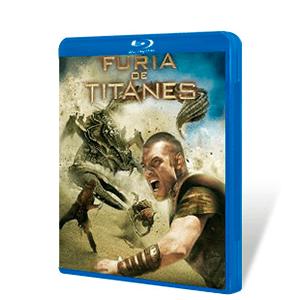 Furia de Titanes 2 discos Bluray + DVD