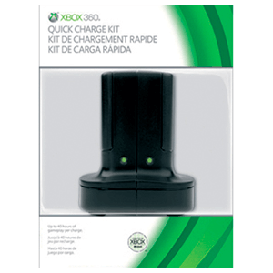 Kit de Carga Rapida Microsoft Negro 2010