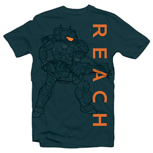 Camiseta Halo Reach Noble Soldier Talla L