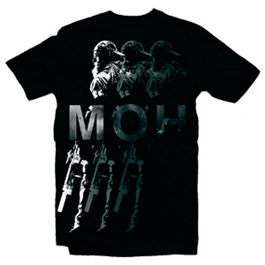 Camiseta Medal of Honor Shadows Talla L