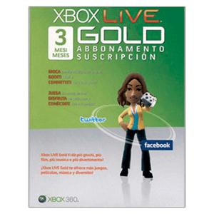 Tarjeta Xbox Live 3 Meses (2010)