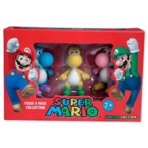 Mario Pack 3 Figuras Yoshi