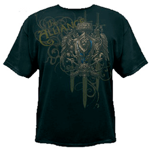 Camiseta World of Warcraft Alianza Talla M