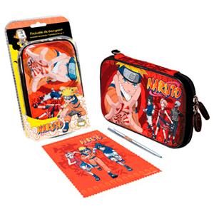 Bolsa + Gamuza + Stylus Naruto DSI/NDSL