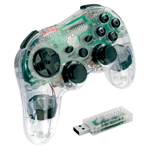 Controller PS3 Crystalpad RF 6Axis Vibration