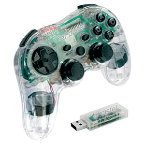 Controller PS3 Crystalpad RF 6Axis Vibration