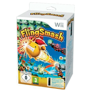 Wii Flingsmash + Wii Remote Plus Negro