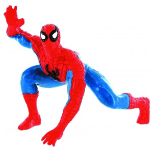 Spiderman Agachado (Expositor)
