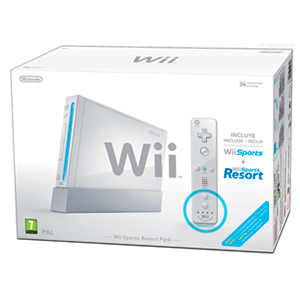 Wii Blanca pack Sports Resort Plus