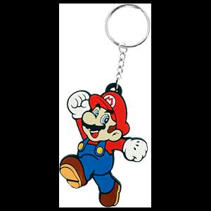 Llavero de Goma: Mario (Expositor)