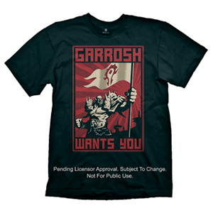 Camiseta World of Warcraft: Garrosh Talla L