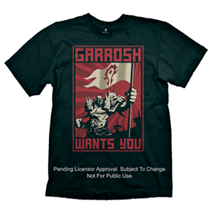 Camiseta World of Warcraft: Garrosh Talla XL